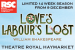 Love's Labour's Lost Show Discount