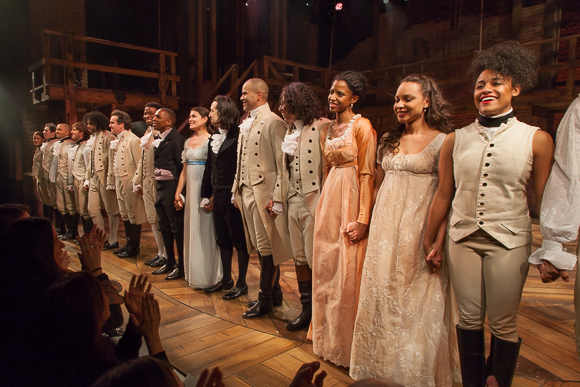 <p>The cast shares one last moment in the spotlight. </p><br />(© Seth Walters)