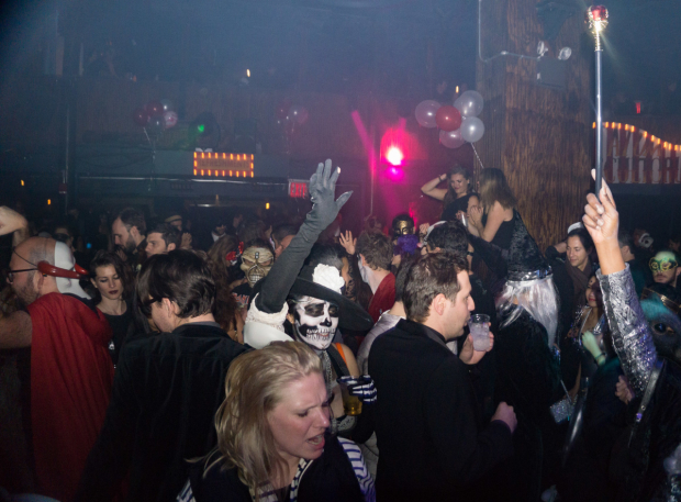 <p>The party lasted into the wee hours.</p><br />(© Seth Walters)