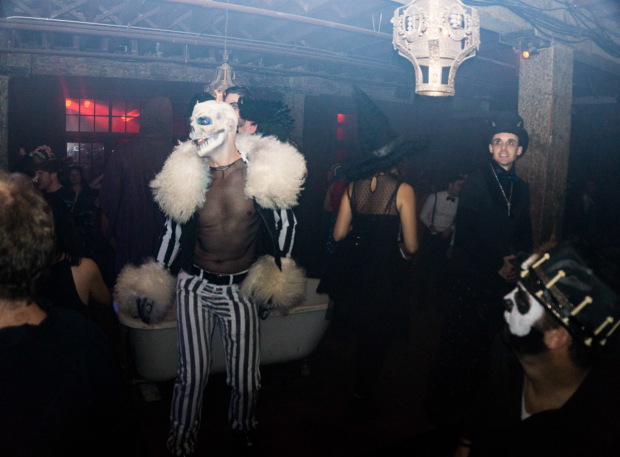 <p>Ghoulish costumes galore. </p><br />(© Seth Walters)