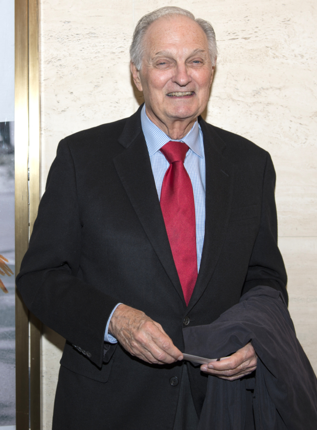 <p>Alan Alda appeared in Peter Parnell&#39&#x3B;s play <em>QED</em>, which also ran at Lincoln Center Theater.</p><br />(© Allison Stock)