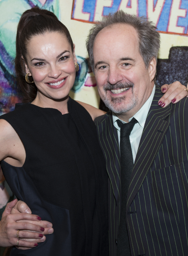 <p>Tammy Blanchard and John Pankow are also featured in the company.</p><br />(© Allison Stock)