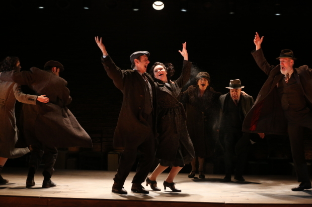 <p>Song and dance in Paula Vogel&#39&#x3B;s <em>Indecent</em>, directed by Rebecca Taichman, at the Vineyard Theatre.</p><br />(© Carol Rosegg)