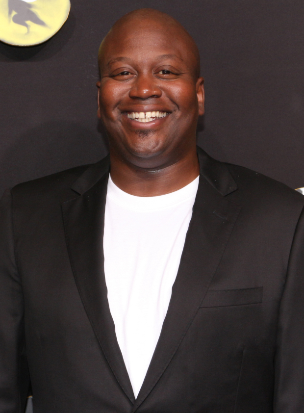 <p>Broadway veteran Tituss Burgess is thrilled to be on hand for <em>Cats</em>.</p><br />(© David Gordon)