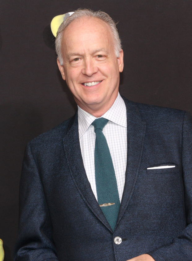 <p><em>The Humans</em> Tony winner Reed Birney poses for a photo before the show.</p><br />(© David Gordon)