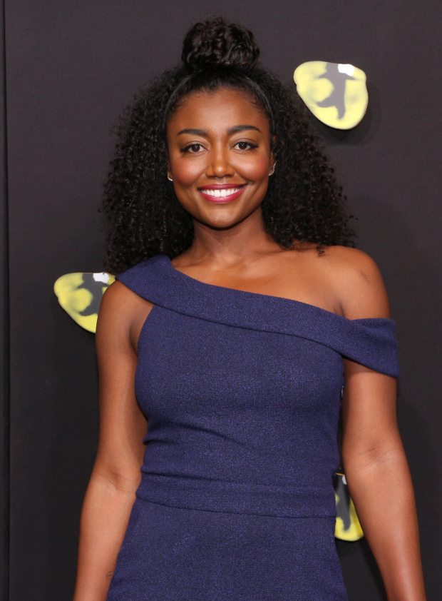 <p><em>Pippin</em> Tony winner Patina Miller arrives for the opening night of <em>Cats</em> on Broadway.</p><br />(© David Gordon)