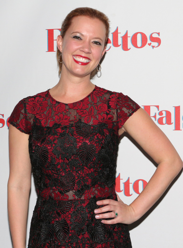 <p>Guests at the opening night included Broadway vet Patti Murin.</p><br />(© David Gordon)