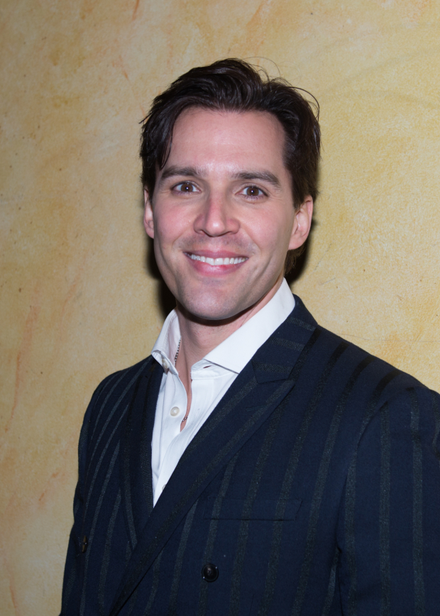 <p>Ryan Silverman, the production&#39&#x3B;s leading man, takes on the role of Woody.</p><br />(© Allison Stock)