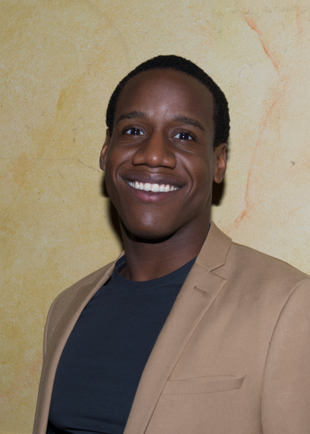 <p>William Bellamy is a member of the show&#39&#x3B;s ensemble.</p><br />(© Allison Stock)