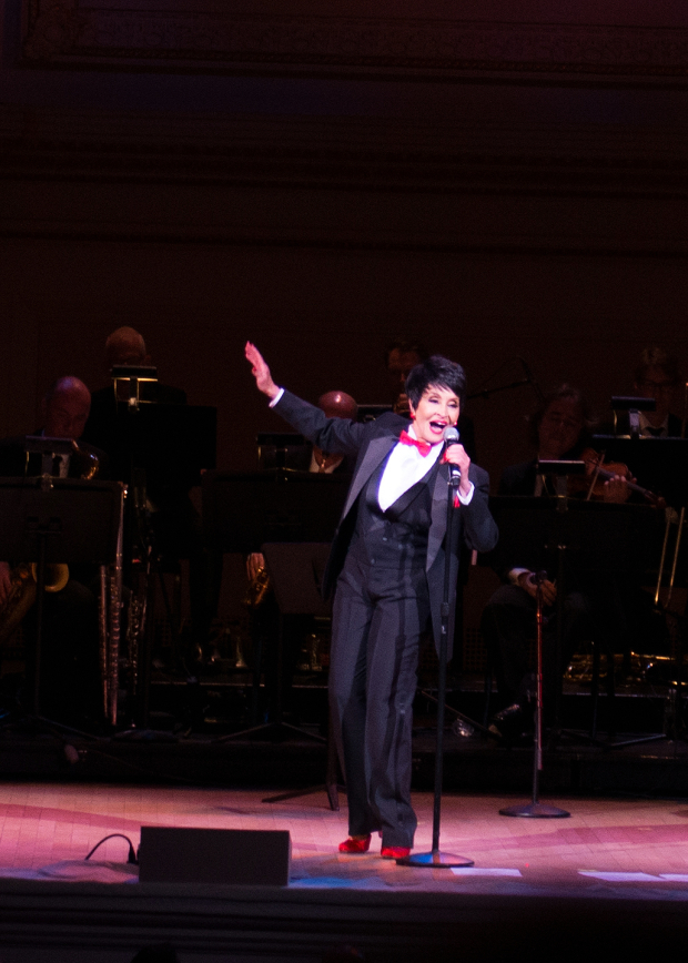 <p>A moment of song with Chita Rivera.</p><br />(© Allison Stock)