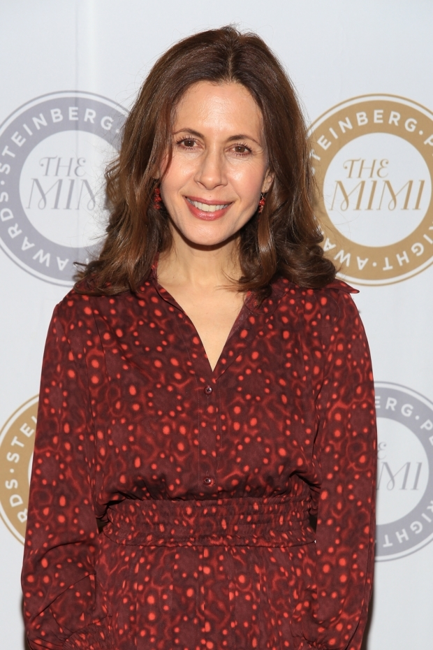 <p>Jessica Hecht appeared in the Playwrights Horizons production of Ruhl&#39&#x3B;s <em>Stage Kiss</em>.</p><br />(© Tricia Baron)