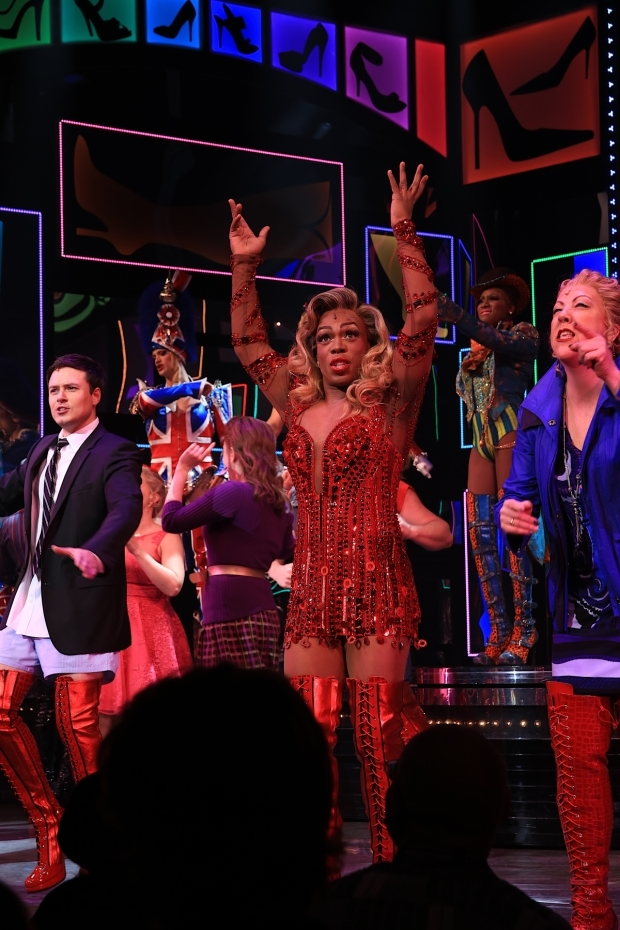 <p>Welcome back to Broadway, Todrick Hall!</p><br />(© Tricia Baron)