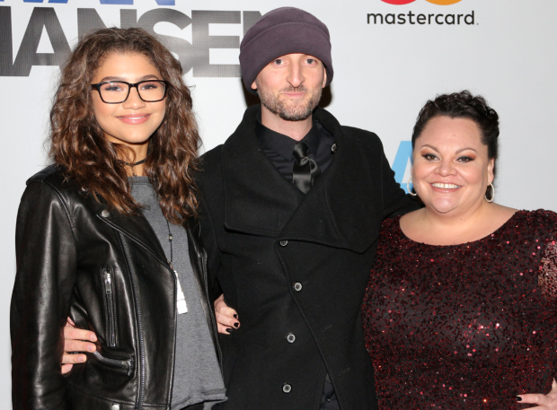 <p>Zendaya, Michael Gracey, and Keala Settle are collaborating with Benj Pasek and Justin Paul on the new film <em>The Greatest Showman</em>.</p><br />(© David Gordon)