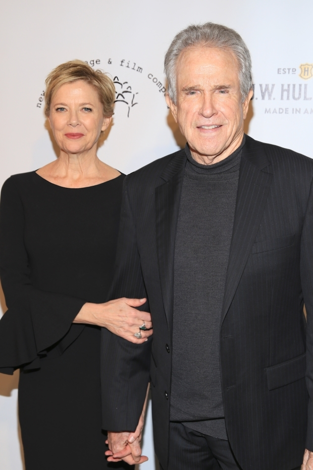 <p>Honoree Annette Bening celebrates with her husband, Warren Beatty.</p><br />(© Tricia Baron)