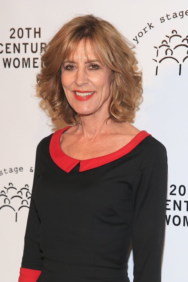 <p>Christine Lahti heads into the event.</p><br />(© Tricia Baron)