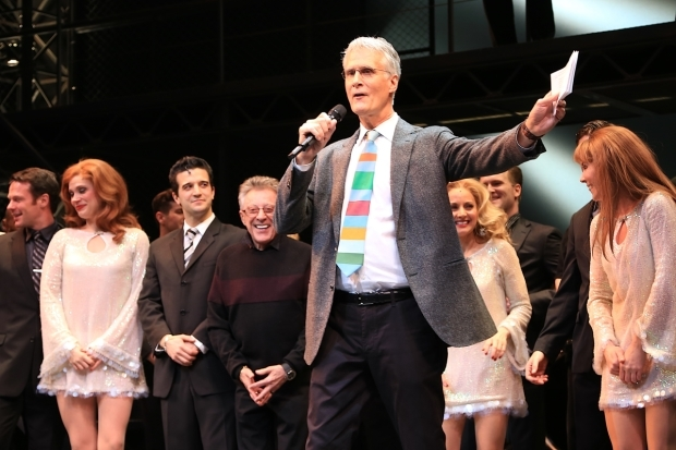 <p>Producer Edward Strong makes a speech onstage.</p><br />(© Tricia Baron)