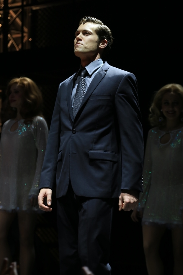 <p>Drew Seeley as Bob Gaudio.</p><br />(© Tricia Baron)