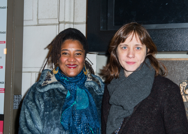 <p>Playwright Lynn Nottage and director Kate Whoriskey will collaborate on the upcoming Broadway premiere of <em>Sweat</em> later this year.</p><br />(© Allison Stock)