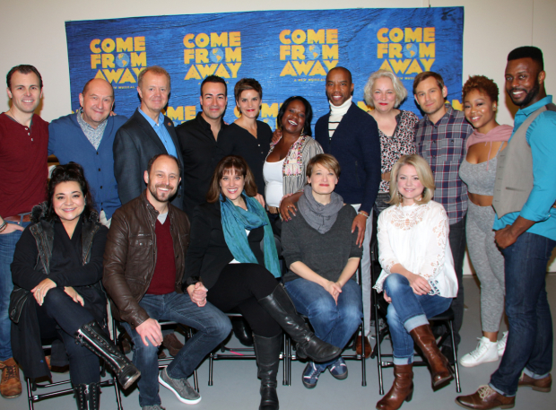 <p>Catch <em>Come From Away</em> at the Gerald Schoenfeld Theatre beginning February 18!</p><br />(© David Gordon)