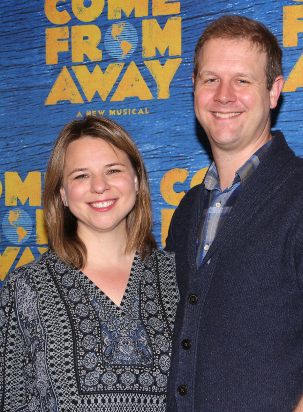 <p><em>Come From Away</em> is written by Irene Sankoff and David Hein.</p><br />(© David Gordon)