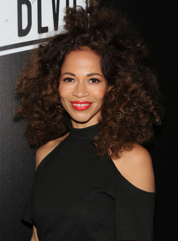 <p>Sherri Saum of <em>The Fosters</em> is ready to see the show.</p><br />(© David Gordon)