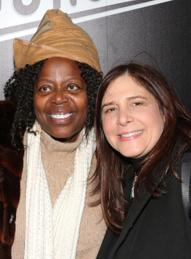 <p>Lillias White and Dori Berinstein are colleagues working on the Broadway-bound musical <em>Half Time</em>.</p><br />(© David Gordon)