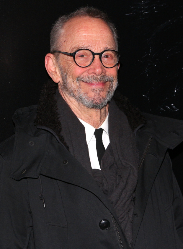 <p>Joel Grey stops for a photo at the Palace Theatre.</p><br />(© David Gordon)