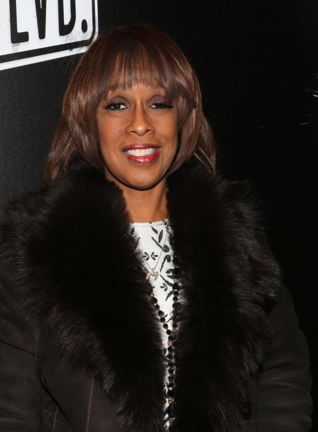 <p>Gayle King is thrilled to be on hand for the show.</p><br />(© David Gordon)