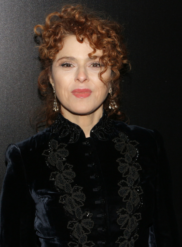 <p>Bernadette Peters is on hand for the performance.</p><br />(© David Gordon)