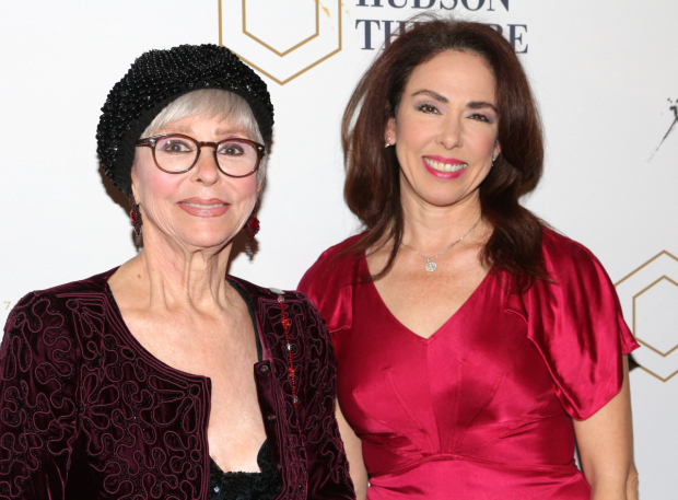 <p>Stage and screen legend Rita Moreno arrives with her daughter, Fernanda Luisa Gordon.</p><br />(© David Gordon)