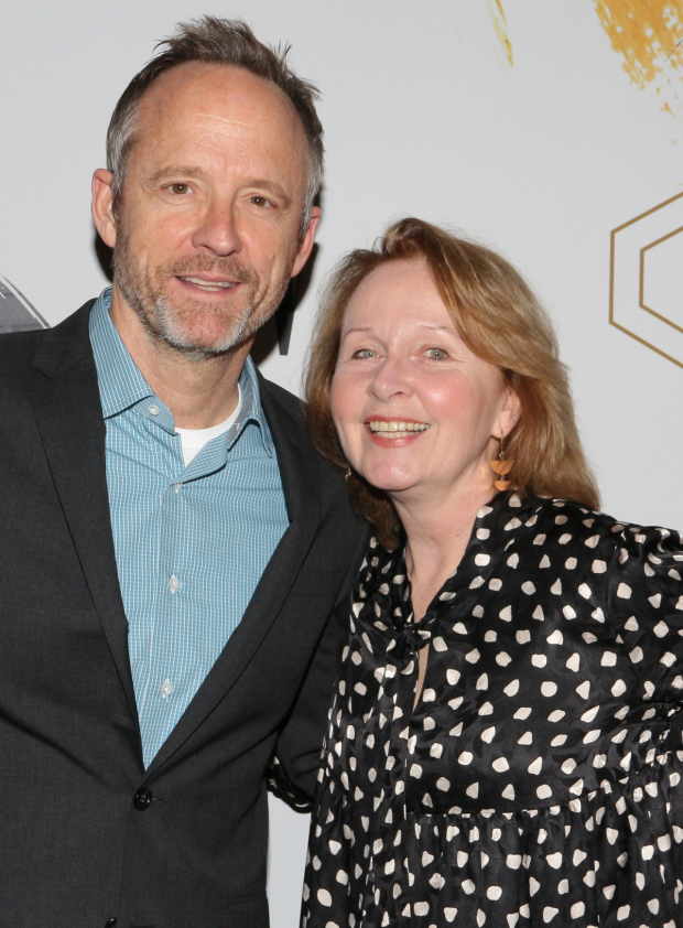<p>John Benjamin Hickey and Kate Burton return to Broadway this spring in <em>Six Degrees of Separation</em> and <em>Present Laughter</em>, respectively.</p><br />(© David Gordon)