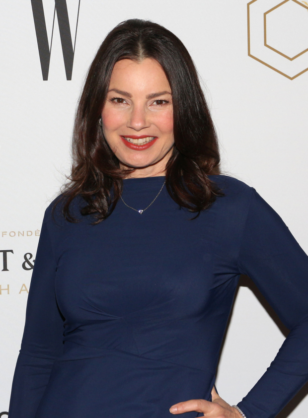 <p>Fran Drescher is on hand for this Broadway opening night.</p><br />(© David Gordon)
