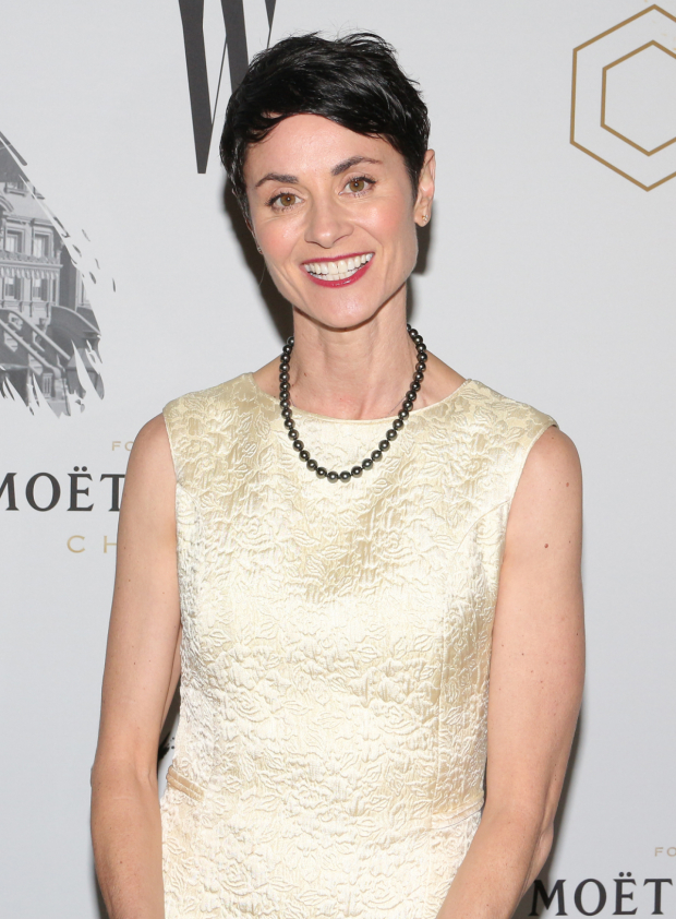 <p><em>Fun Home</em> Tony nominee Beth Malone takes in the show.</p><br />(© David Gordon)