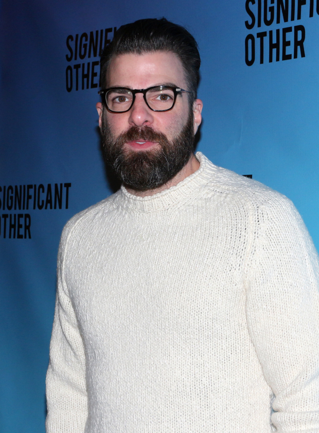 <p>Zachary Quinto appeared at the Booth Theatre in <em>The Glass Menagerie</em>.</p><br />(© David Gordon)
