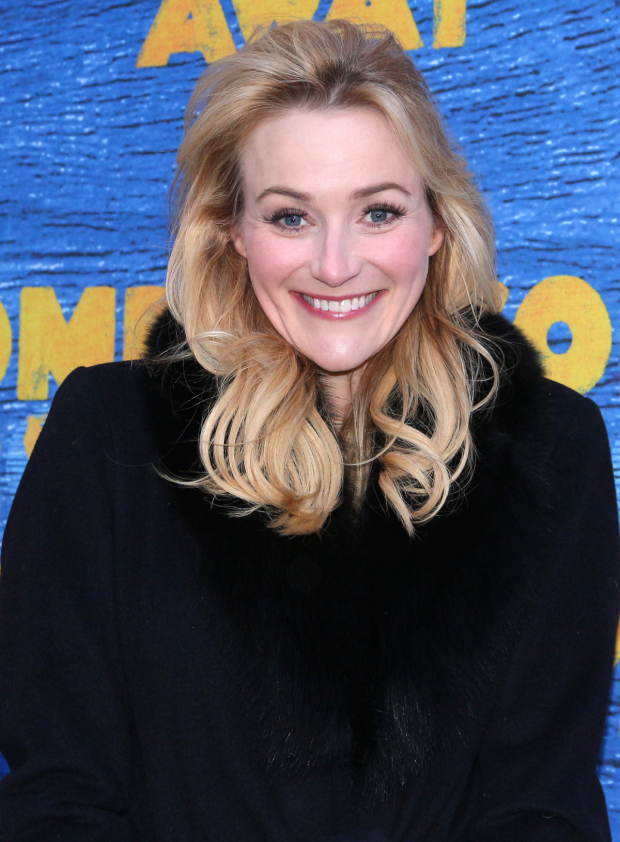 <p>Betsy Wolfe arrives to see <em>Come From Away</em> on Broadway.</p><br />(© David Gordon)