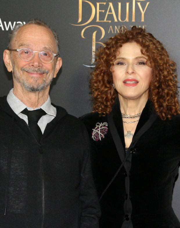 <p>Guests included Tony-winning Broadway favorites Joel Grey and Bernadette Peters.</p><br />(© David Gordon)