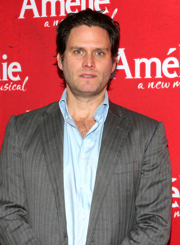 <p>Steven Pasquale leads the Phillipa Soo cheering section at the Kerr.</p><br />(© David Gordon)