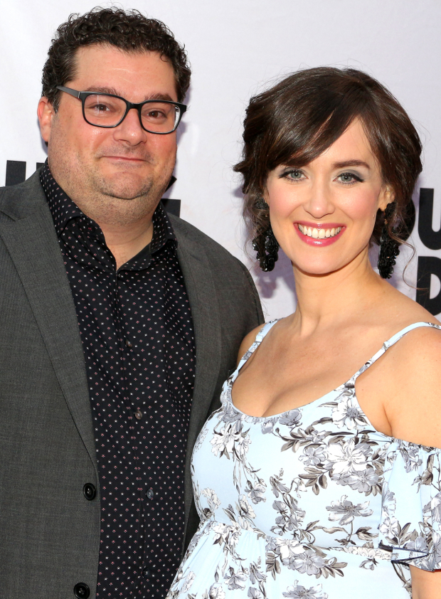 <p>Bobby Moynahan and Brynn O&#39&#x3B;Malley arrive for the performance.</p><br />(© David Gordon)