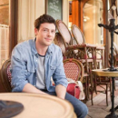 Cory Monteith Visits Monte Carlo