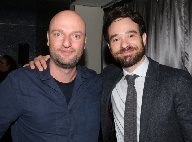 <p>Matthew Maher and Charlie Cox pose together.</p><br />(© David Gordon)