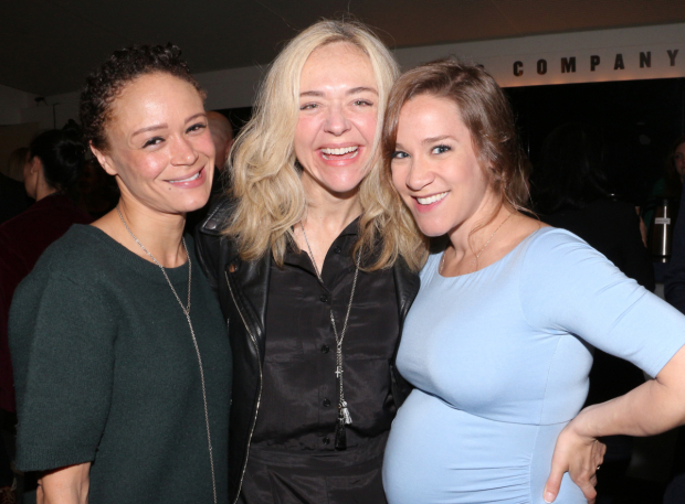 <p>Amber Grey, Rachel Bay Jones, and Betsy Morgan are 2017 Lucille Lortel Awards nominees.</p><br />(© David Gordon)