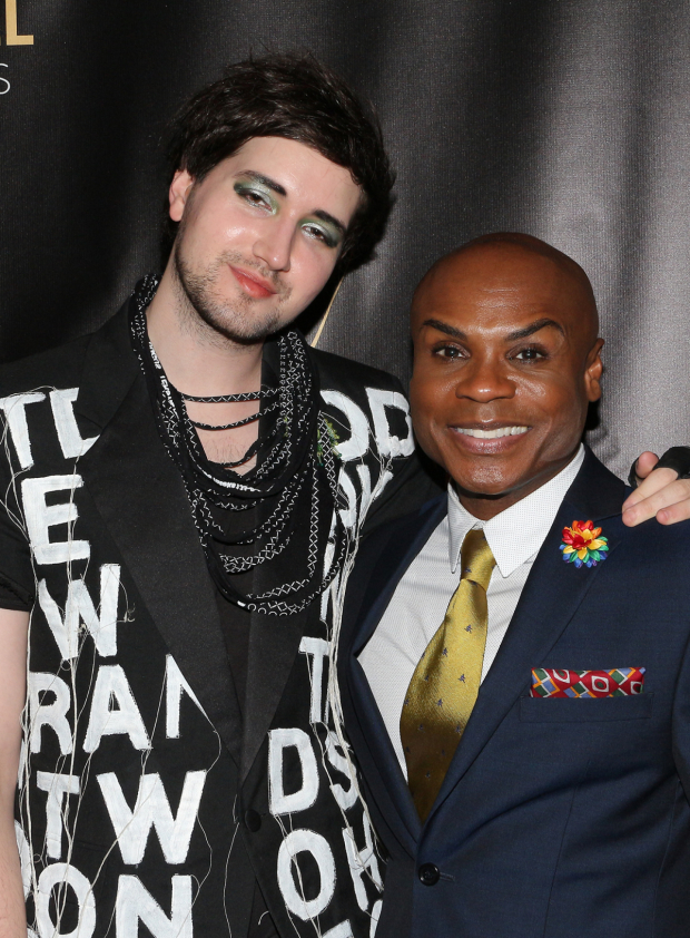 <p>Max Vernon and Nathan Lee Graham represent <em>The View UpStairs</em></p><br />(© David Gordon)