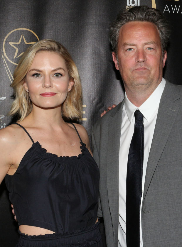 <p>Jennifer Morrison and Matthew Perry star in Perry&#39&#x3B;s new play <em>The End of Longing</em> at the Lucille Lortel Theatre.</p><br />(© David Gordon)