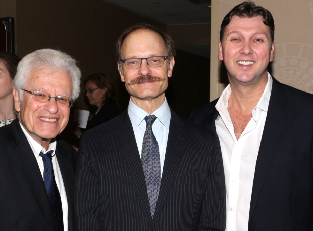<p>Representing <em>Hello, Dolly!</em>: director Jerry Zaks, leading man David Hyde Pierce, and choreographer Warren Carlyle.</p><br />(© David Gordon)