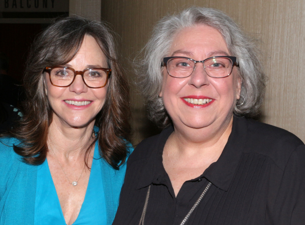 <p>Sally Field and Jayne Houdyshell pose together.</p><br />(© David Gordon)