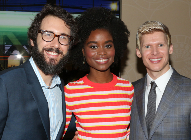 <p>Josh Groban, Denée Benton, and Lucas Steele of <em>Natasha, Pierre &amp&#x3B; The Great Comet of 1812</em>.</p><br />(© David Gordon)