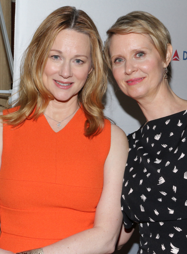 <p>Laura Linney and Cynthia Nixon, nominees for <em>The Little Foxes</em>.</p><br />(© David Gordon)