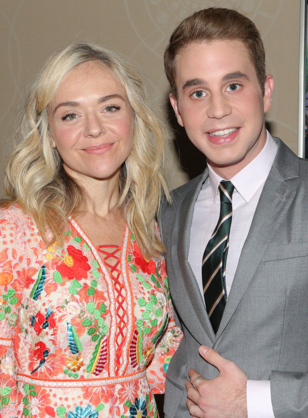 <p>Rachel Bay Jones and Ben Platt, nominees for <em>Dear Evan Hansen</em>.</p><br />(© David Gordon)