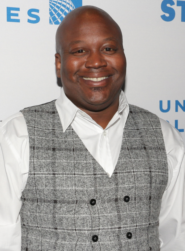 <p>Tituss Burgess hosts <em>Stars in the Alley</em>.</p><br />(© David Gordon)