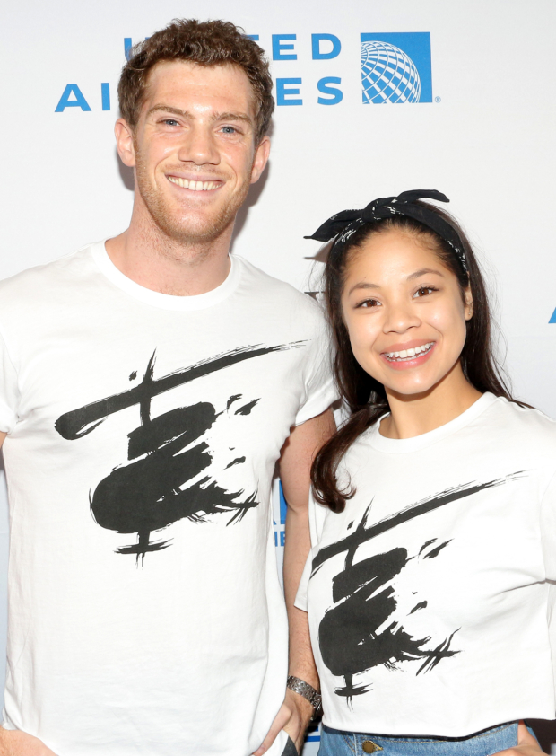 <p>Alistair Brammer and Eva Noblezada represnt <em>Miss Saigon</em>.</p><br />(© David Gordon)